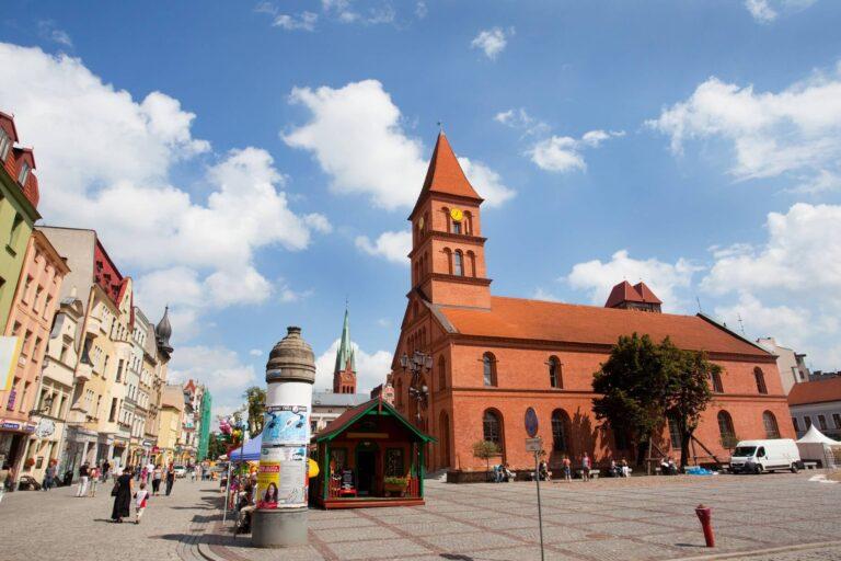 Nowy Rynek w Toruniu,Poland